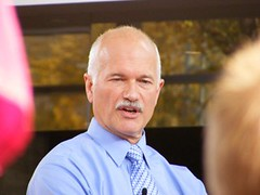 Jack Layton in Edmonton II | by dave.cournoyer