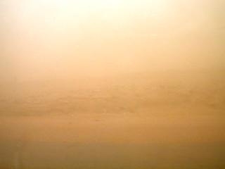 Sandstorm at Mid-day, Syrian Desert