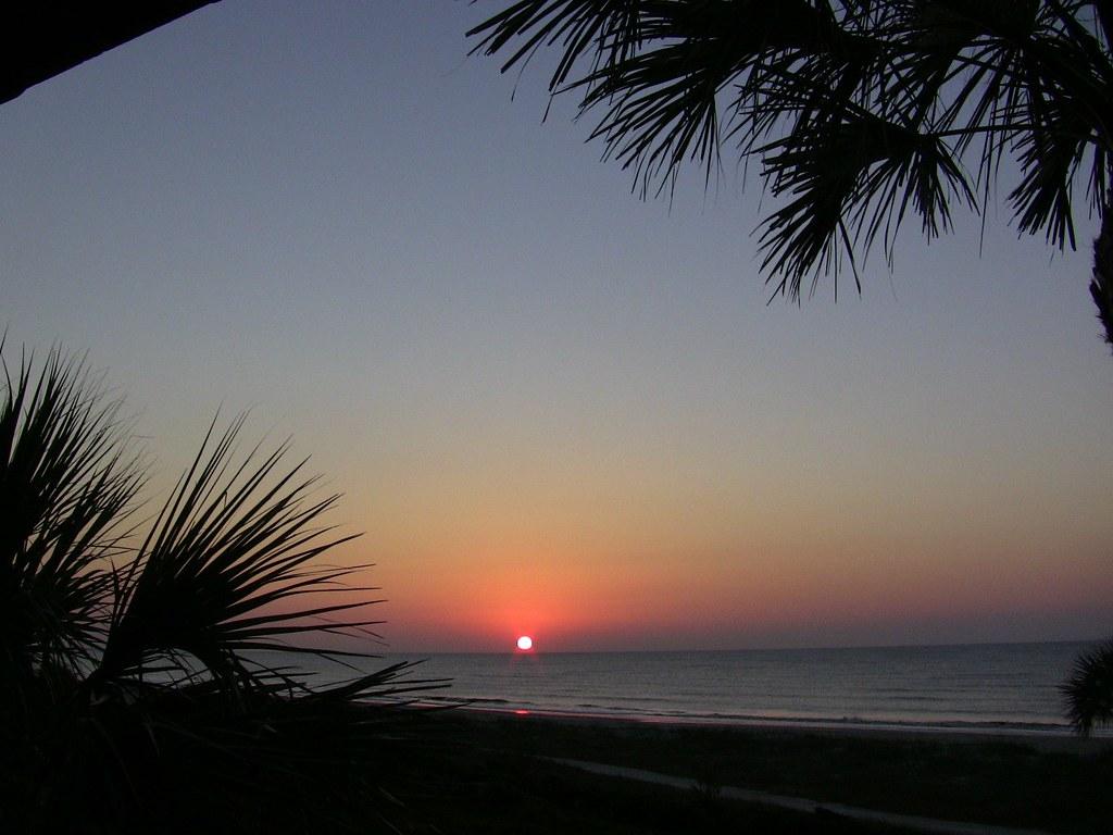 Sun Rise, Sea Island, Ga.