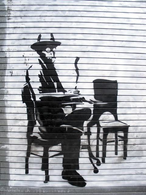 Fernando Pessoa stencil