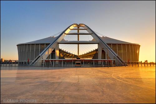 sunrise southafrica nikon stadium worldcup durban 10mm d90 soccerstadium nikond90 1024mm mosesmabhidastadium 2010stadiums