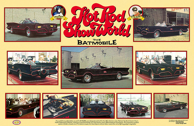 World Of Wheels Batmobile Fantasy Poster