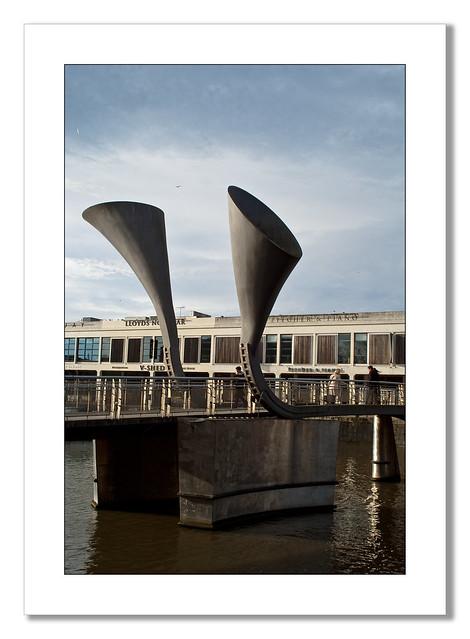 Bridge Bristol Docks