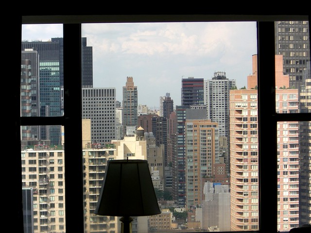 View From My Manhattan Apartment - Just Kidding