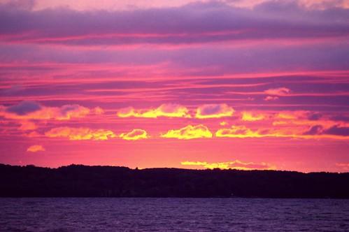 sunset sun set