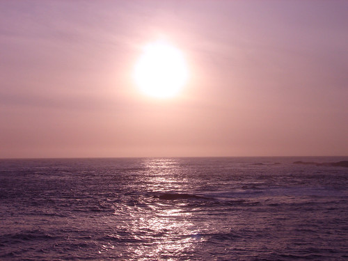 Sunset over the Pacific Ocean | by eastcolfax