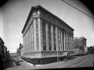 The DIC Building, taken from opposite the Lambton Quay and Brandon Street corner, Wellington, 1929 | by National Library NZ on The Commons