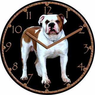 Diesel Dog Pet Clock | by customclockface