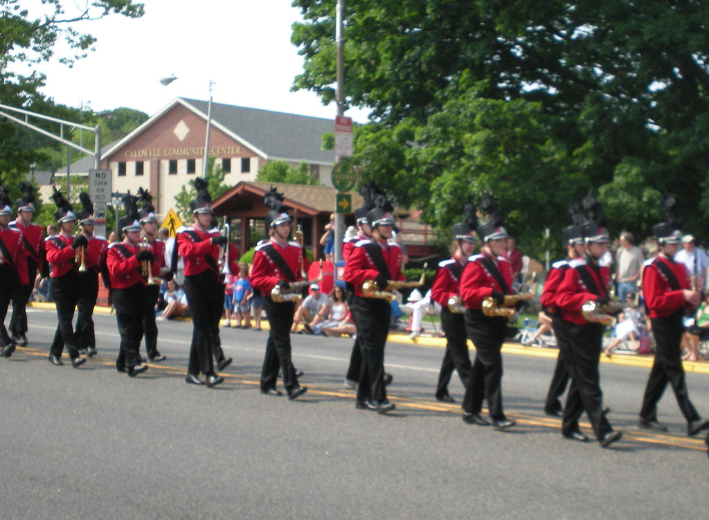 West Essex Memorial Day Parade, 2009: High School Marching