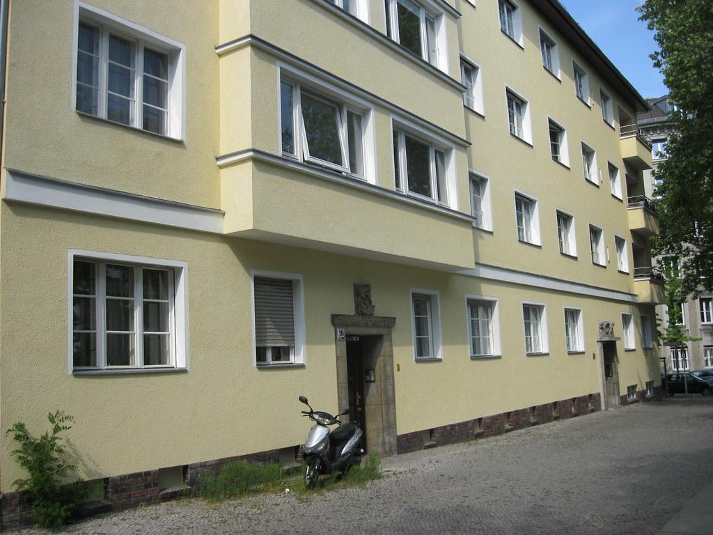 1935 Berlin Wohnanlage Bredtschneiderstraße 9-10/Meerscheidtstraße 1 in 14057 Charlottenburg