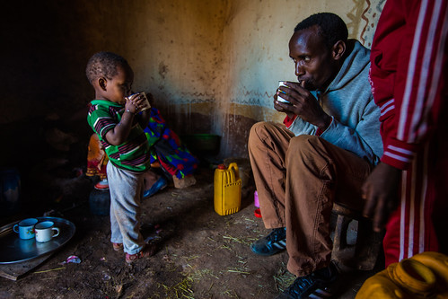 Morning tea with the family | by USAID_IMAGES