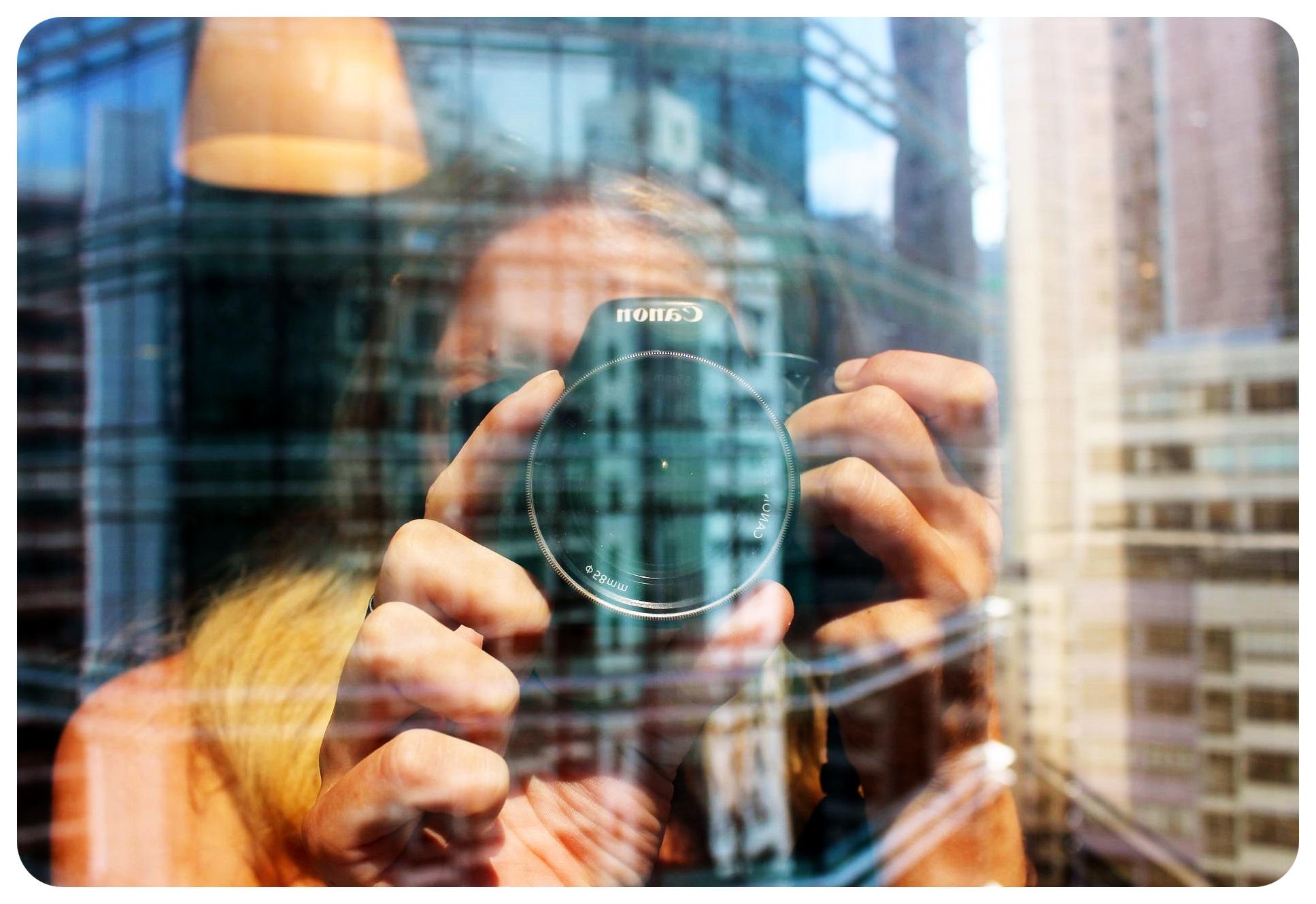 camera reflection