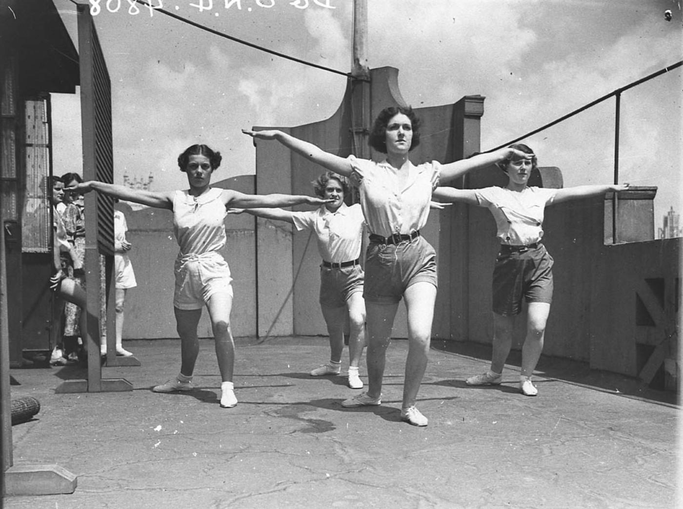 Physical Culture Class, 1934