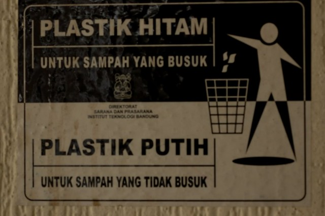 Separate your trash