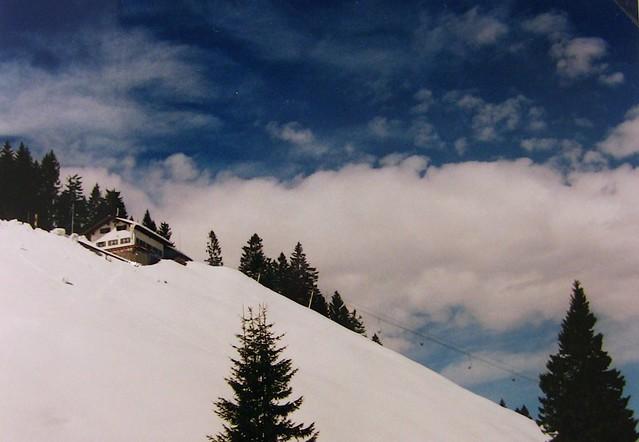 Schneeberg mit herrlichem Himmel ,  243