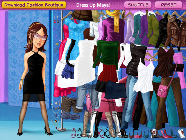 Dress Up Mini Game Dress Up Maya Choosing Over Dozens Of Flickr