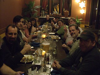 Dinner after Florida DrupalCamp 09 | by hewiep