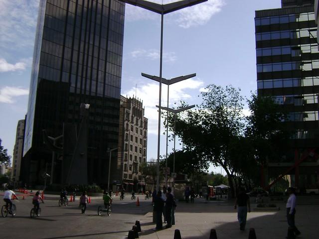 Paseo de La Reforma, Zona Rosa-Centro, Ciudad de México/Mexico City - www.meEncantaViajar.com