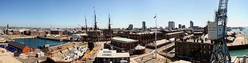 Her Majesty's Naval Base (HMNB) Portsmouth (HMS Nelson)   by Hexagoneye Photography