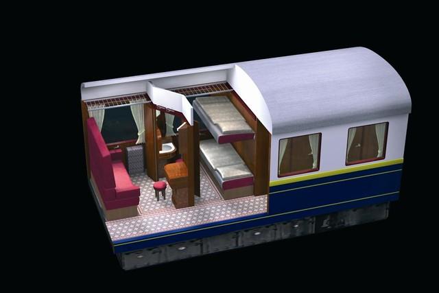 European heritage train for charters - clic sleeper, ni ... on train car house plans, railroad car home, passenger car house plans, freight car house plans,