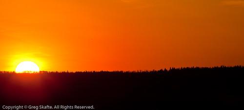 sunset canada landscape paisaje alberta puestadesol ocaso canadá kanada solnedgång landskap