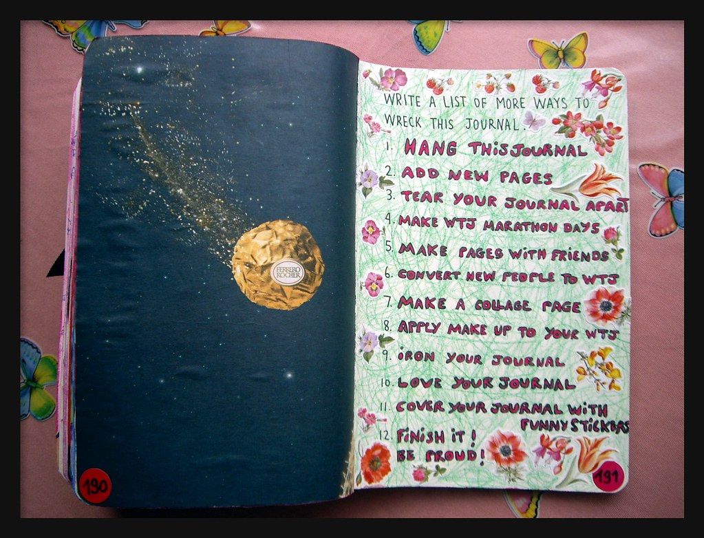 WTJ 94 Write a list of more ways to wreck this journal