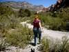 Me Hiking at La Madre Springs by Sarah&Boston