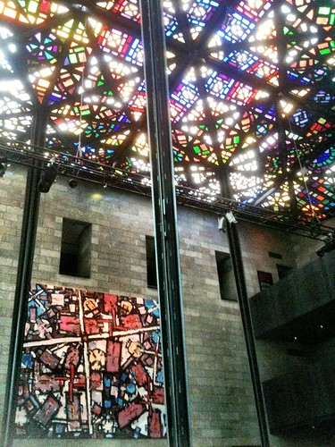Stained glass roof of the NGV | by miaow