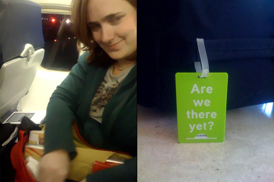 Traveling Rachel
