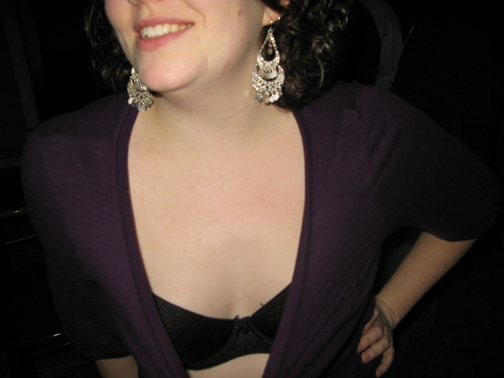 Wife Cleavage
