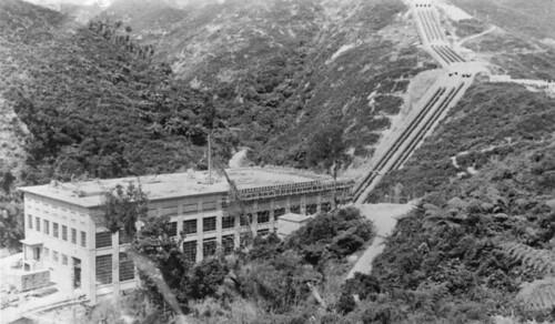 Mangahao Hydro-Electric Station.
