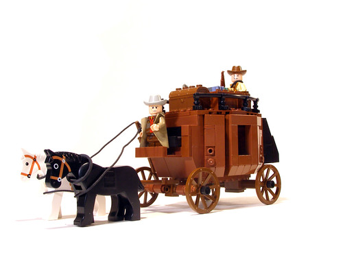 Wild West Stagecoach