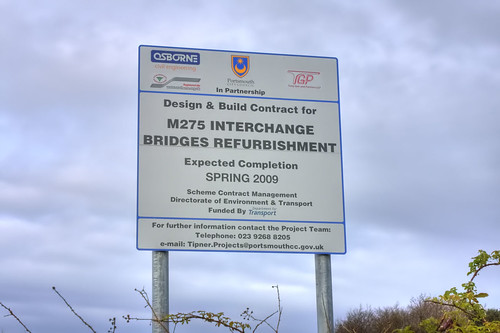 Tipner M275 Ghost Junction Completion Spring 2009   by Hexagoneye Photography