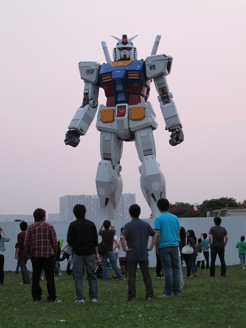 1/1 Real Scale GUNDAM@Odaiba Kaihin Koen(Odaiba Seaside Park)