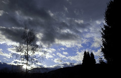 Dark Clouds Hanging In The Sky IV