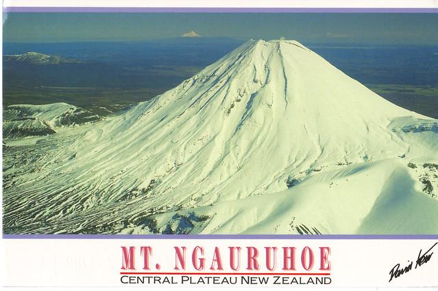 Mt. Ngauruhoe Postcard