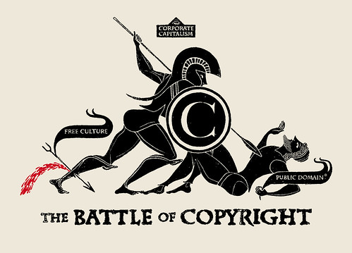 THE BATTLE OF COPYRIGHT | by Christopher Dombres