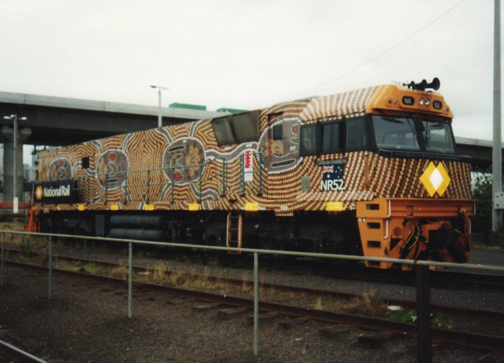 Near new NR52 in special livery at Dynon by zed.fitzhume