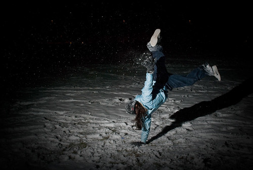 B-Girl in the Snow... | by floatingface