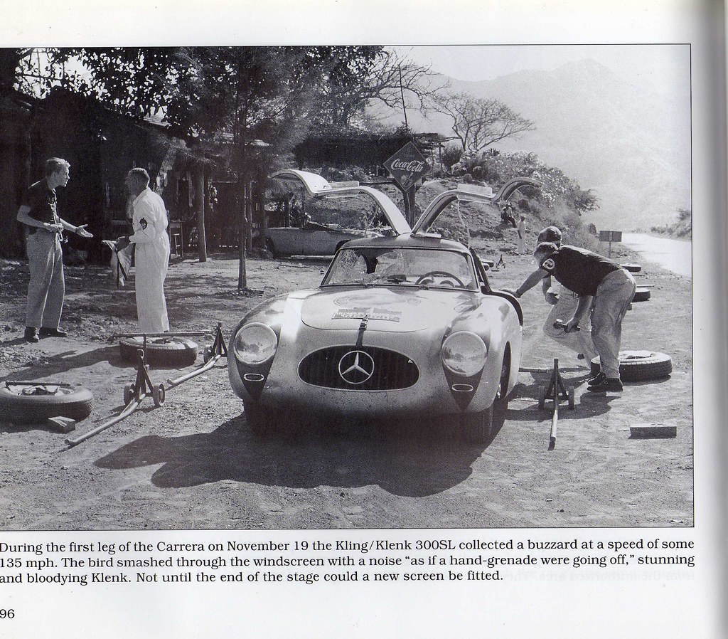Mercedes Benz 300SL Carrera Panamericana Mexico 1952 | Flickr