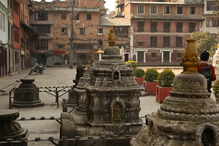 A courtyard in Kathmandu | by World Bank Photo Collection
