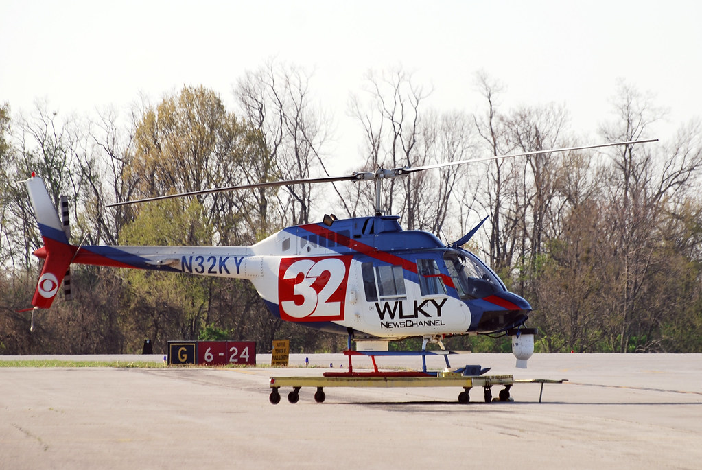 The Helicopter Of The Tv Station Wlky Nbc Channel 32 News Flickr