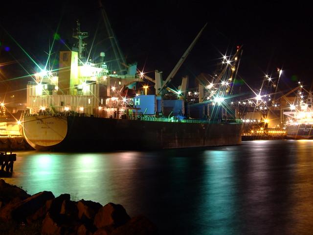 Another Ship at Port - Medi Osaka