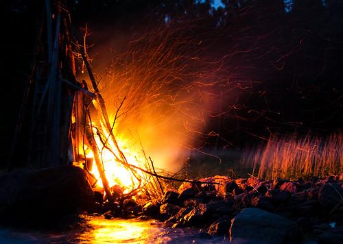 Midsummer bonfire   by nurpax