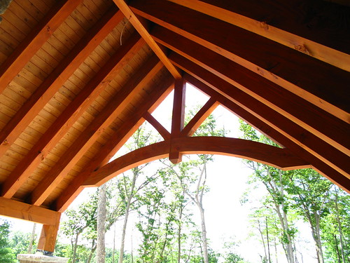 timberframe-porch | by Brock Builders