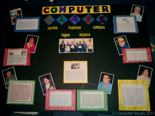 Fuentes students class presentation board, Fall 2008 | by Computer Mystic