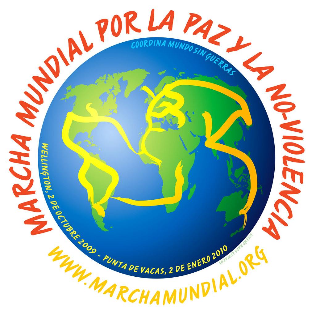 Marcha Mundial - Brush T-shirt