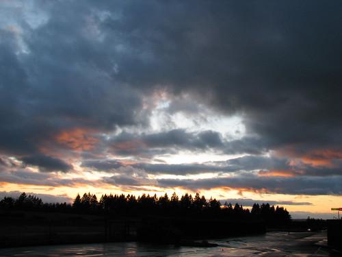 sunset sublimity