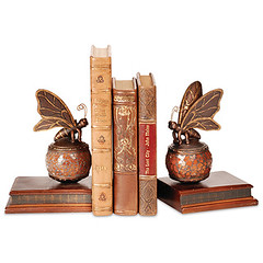 CM806819 - Mosaic Butterfly Bookends