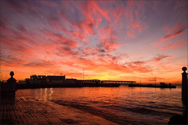 Tagus river dawn